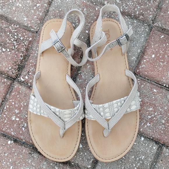 Lexie Novelty Oxford Tan Canvas Sandal
